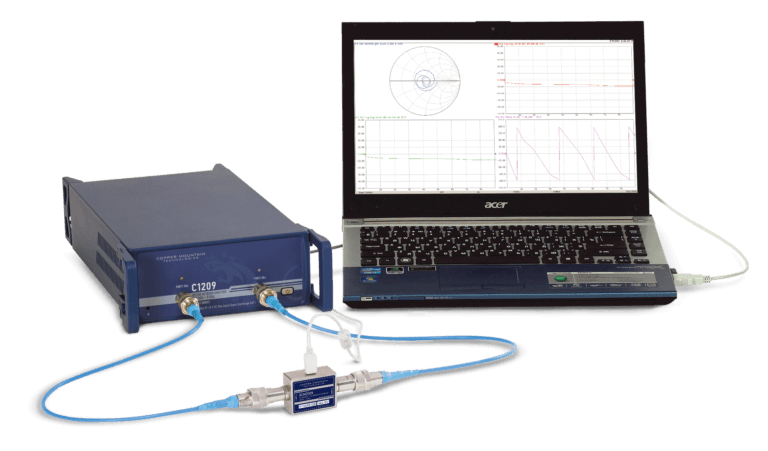 Cobalt USB Vector Network Analyzer C1209 2-Port VNA & Automated Calibration Module ACM2509