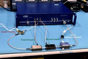 measurement of high powered devices rf component testing