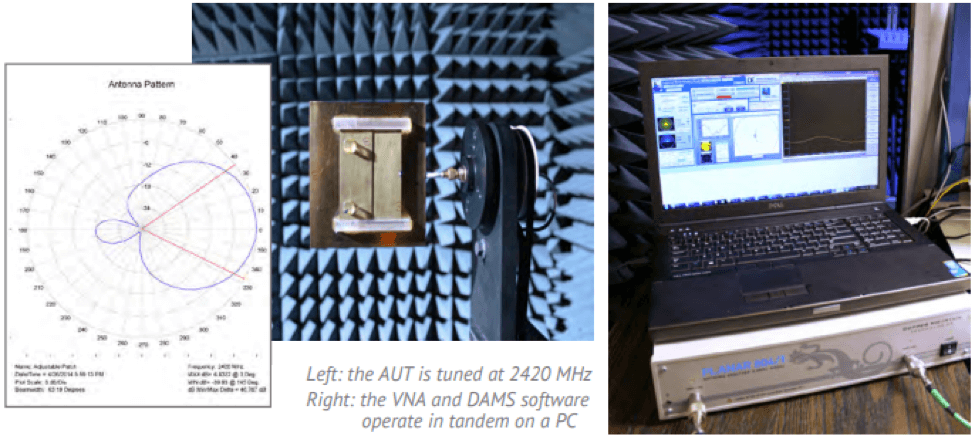 automated antenna testing vector network analyzer