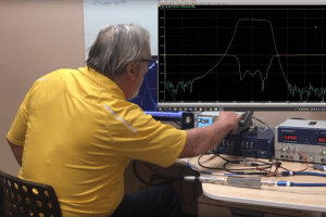 Vector Network Analyzer Measurement of S-Parameters in a Pulsed RF System