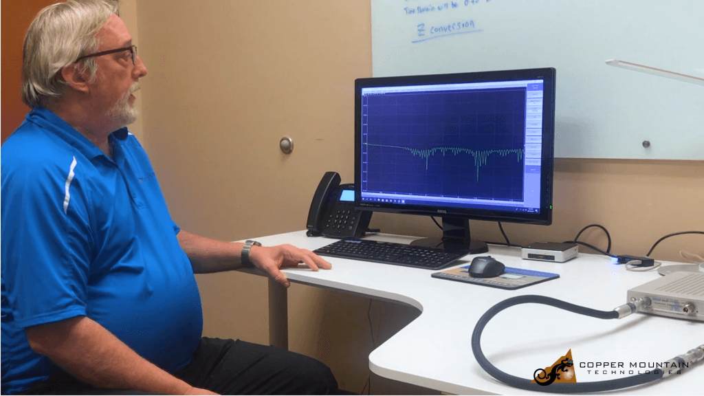 Time Domain Reflectometry Measurement Informational Video with Copper Mountain Technology