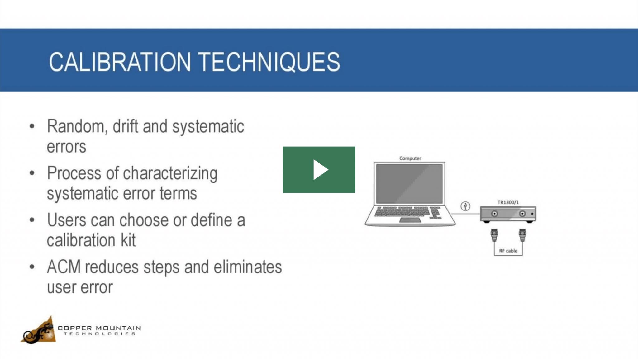 vna calibration video