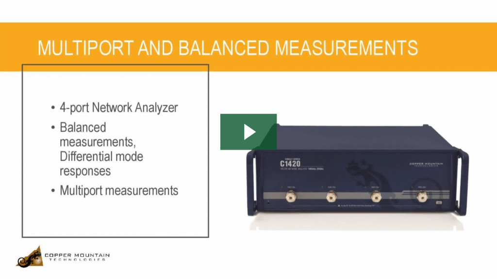 multiport and balanced vna measurements video thumbnail