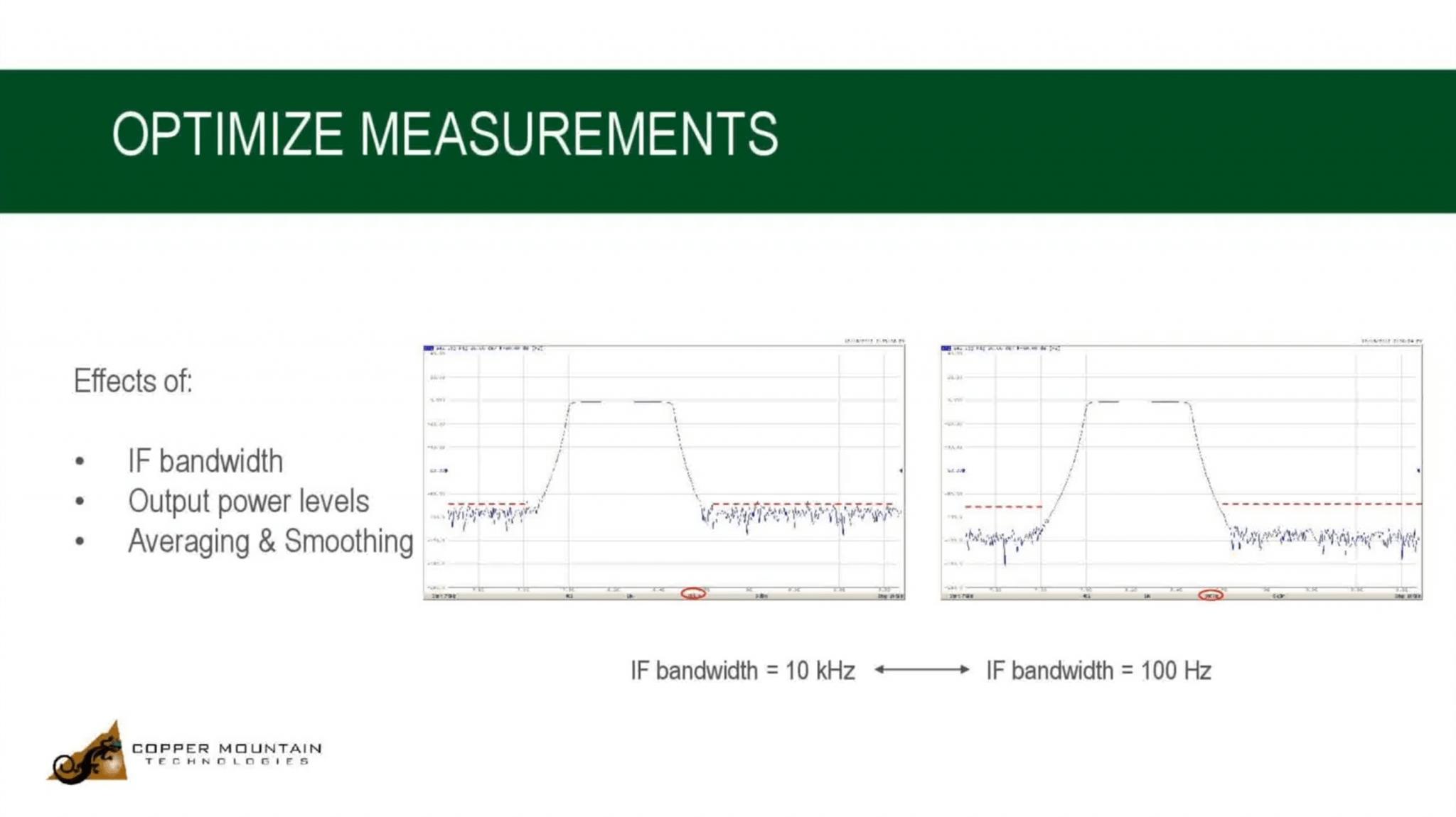 optimizing vna measurements video