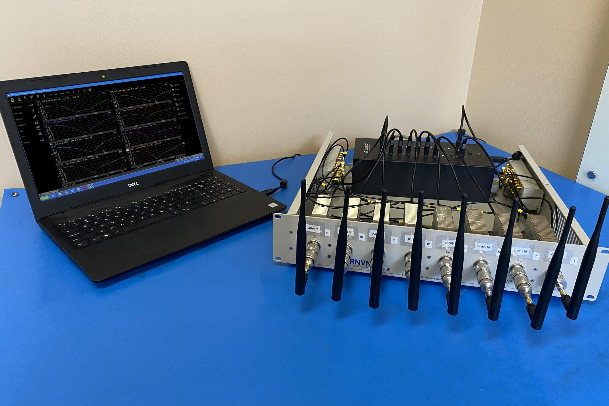 RNVNA Multiport Testing Solution