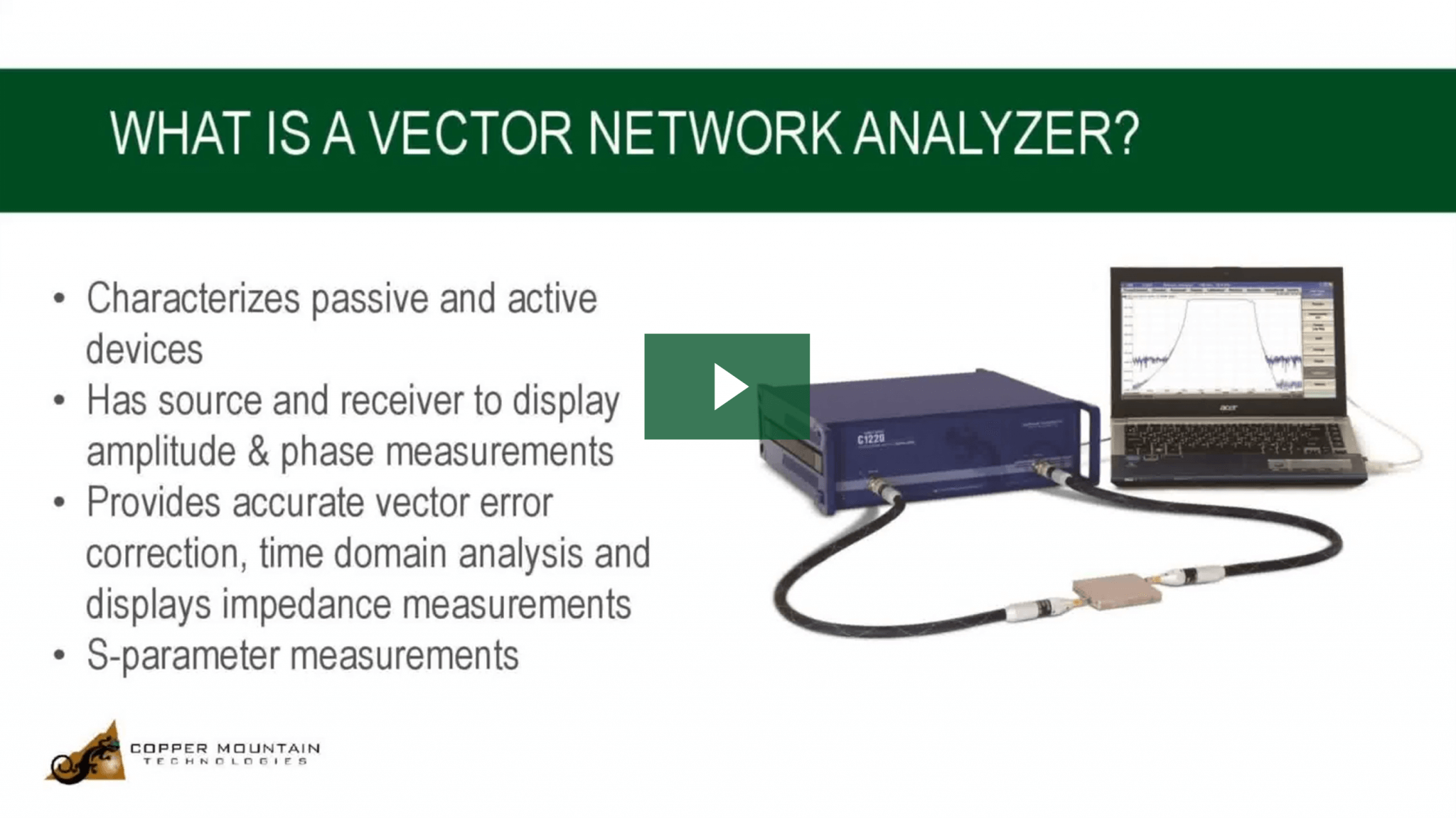 what is a vna video