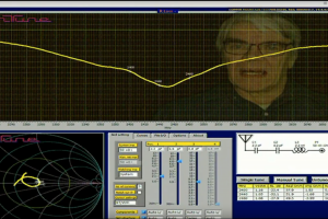 AnTune Antenna impedance matching and antenna efficiency measurement demonstration Screenshot