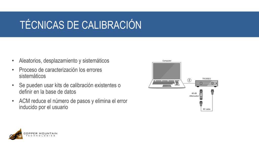 Calibrando un Analizador de Redes Vectoriales -SP 1