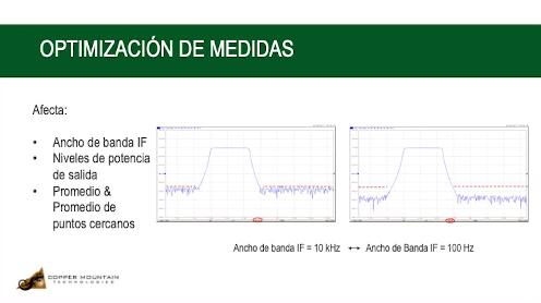Optimización de Medidas en un Analizador Vectorial de Redes