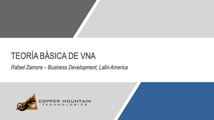 Teoria Basica de VNA Slide