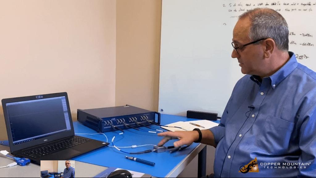 calibrating 4-port vna with 2-port acm