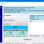manufacturing test management plug-in vna - Test