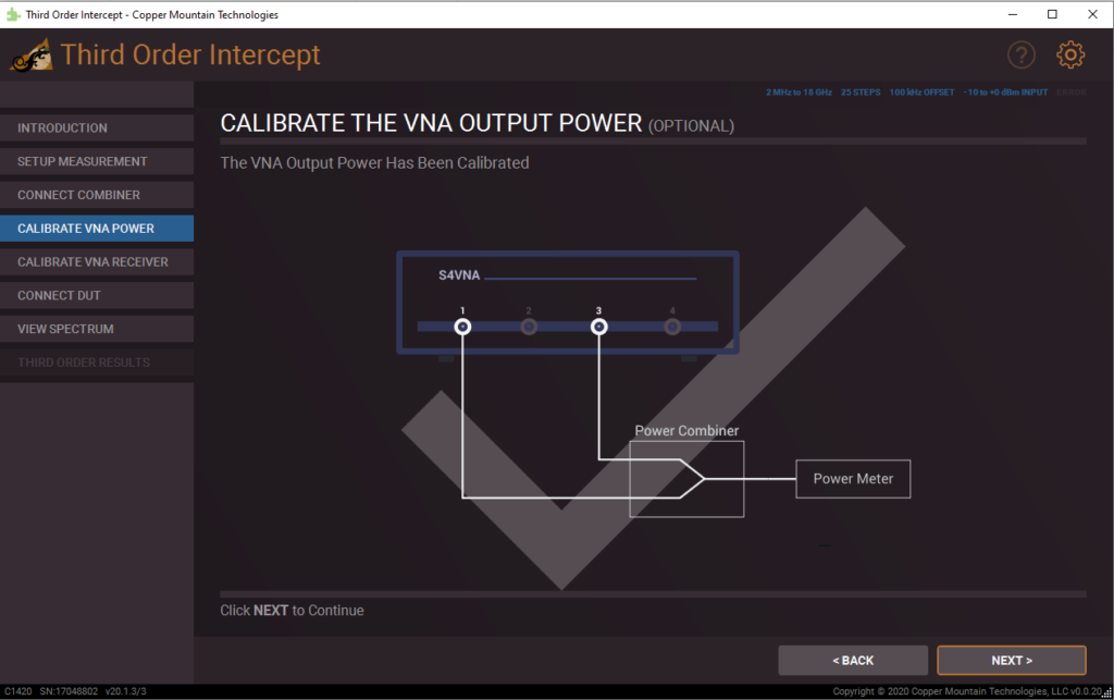Third Order Intercept Plug-in