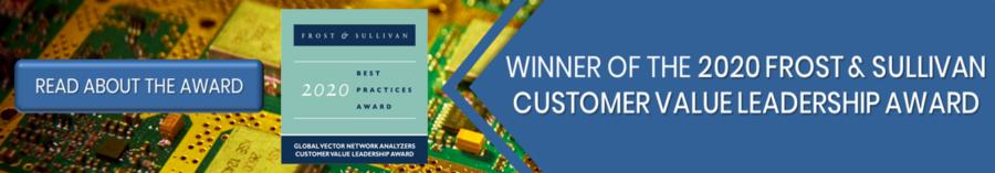 Frost & Sullivan Customer Value Leadership Award