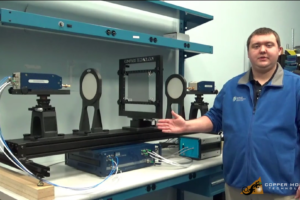 focus beam materials measurement system
