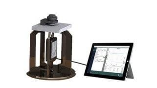 Epsilometer hooked up to iPAD